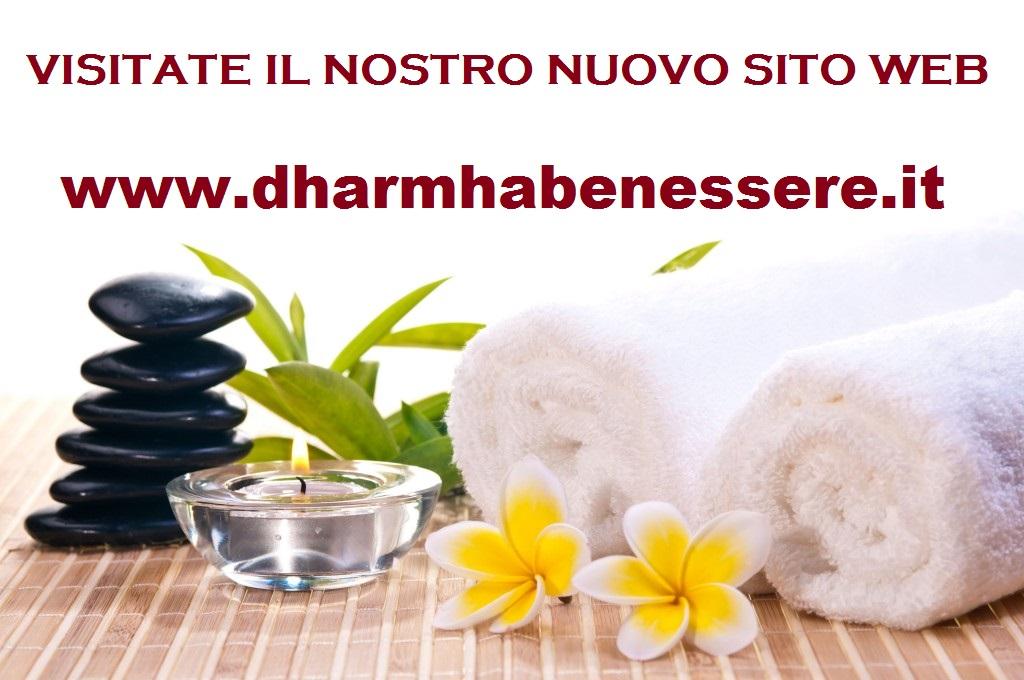 On line Nuovo sito internet www.dharmhabenessere.it
